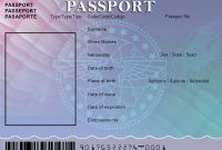 Blank Passport Template  Google Search …  Passport Template  Passp… With Regard To Borderless Certificate Templates