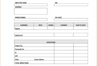 Blank Pay Stub Template Free Check Outstanding Ideas With with Blank Pay Stubs Template