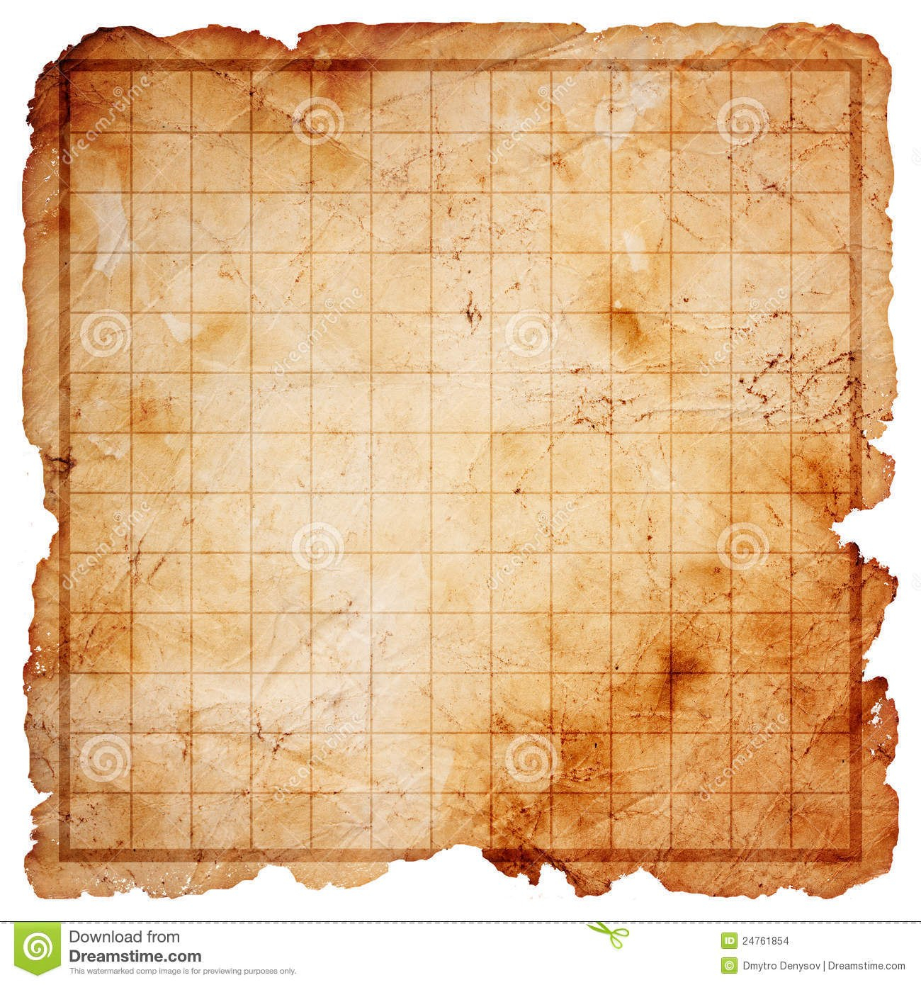 Blank Pirate Treasure Map Stock Illustration Illustration Of Pirate Throughout Blank Pirate Map Template