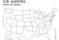 Blank Printable Map Of The United States Valid Refrence Free Us intended for Blank Template Of The United States