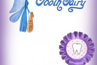 Blank Purple Tooth Fairy Certificate  Rooftop Post Printables throughout Free Tooth Fairy Certificate Template