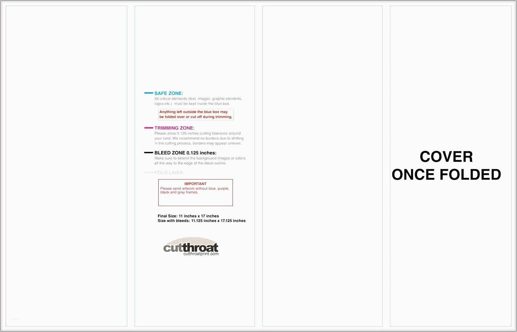 Blank Quarter Fold Card Template  Lascazuelasphilly In Blank Quarter Fold Card Template