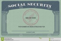 Blank Social Security Card Template  Hardbreakersthemovie pertaining to Blank Social Security Card Template Download