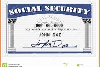 Blank Social Security Card Template  Hardbreakersthemovie pertaining to Ssn Card Template