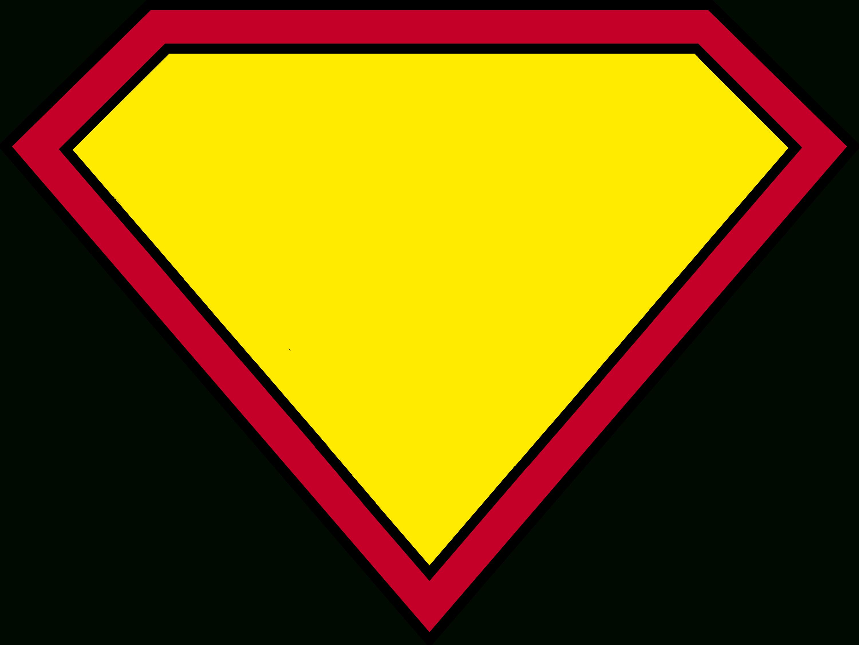 Blank Superman Logos For Blank Superman Logo Template