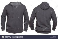 Blank Sweatshirt Mock Up Template Front And Back View Isolated On throughout Blank Black Hoodie Template