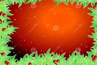Blank Template For Christmas Greetings Card Royalty Free Stock intended for Blank Christmas Card Templates Free