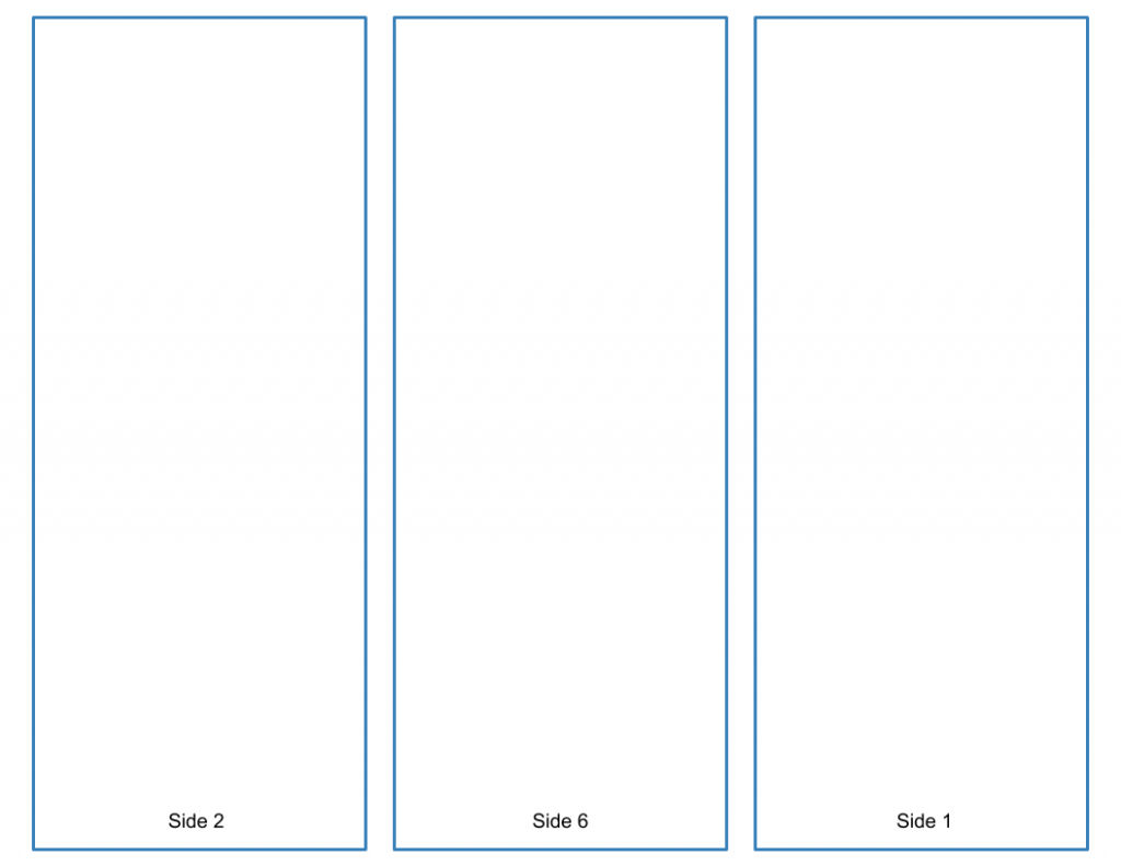 Blank Trifold Brochure Template  Google Slides Free Download Throughout Brochure Template For Google Docs