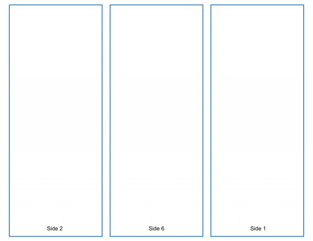 Blank Trifold Brochure Template  Google Slides Free Download With Google Drive Brochure Template