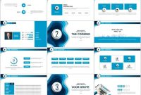 Blue Business Introduction Powerpoint Template  Presentation within Powerpoint Template Resolution