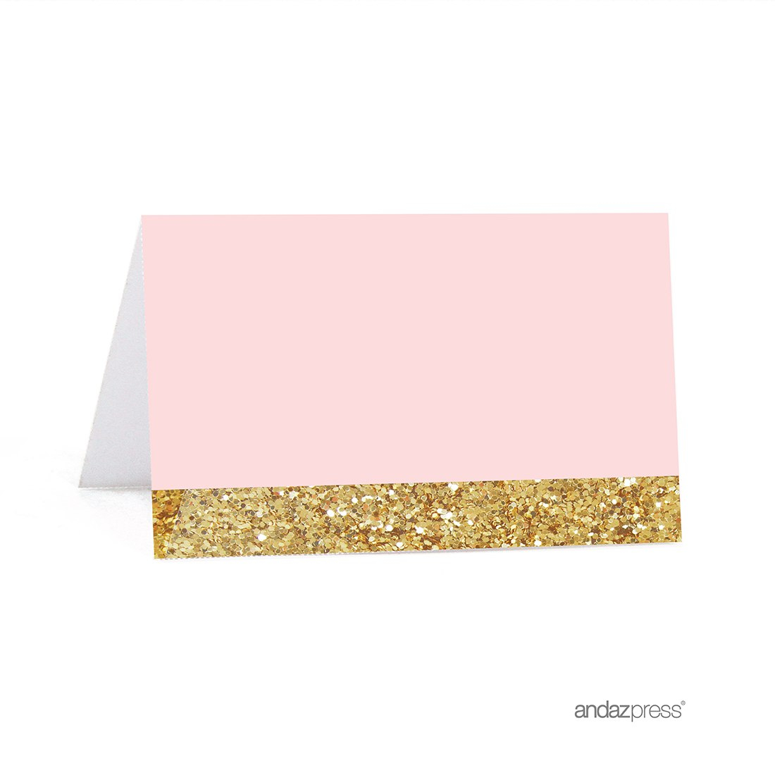 Blush Pink Gold Glitter Print Wedding Printable Table Tent Place With Regard To Celebrate It Templates Place Cards