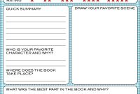 Bnute Productions Free Printable Kids Book Report Worksheet  Book throughout Quick Book Reports Templates
