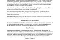 Bolton Naturopathic Clinic Fill Online Printable Fillable Blank with regard to Massage Cancellation Policy Template