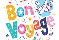 Bon Voyage Stock Illustrations –  Bon Voyage Stock Illustrations in Bon Voyage Card Template