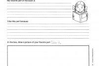 Book Report Outline  Second Grade Book Report Layout  Book Report regarding Second Grade Book Report Template