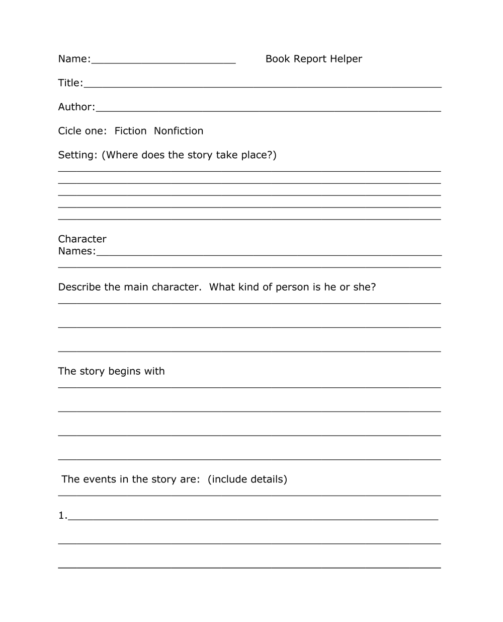 Book Report Templates From Custom Writing Service Bookwormlab Regarding One Page Book Report Template