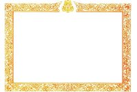Border Template Pdf  Vectorborders with Award Certificate Border Template