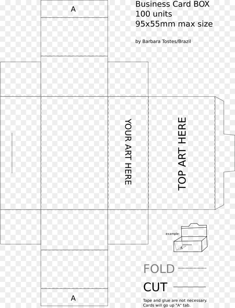 Box Png Download    Free Transparent Paper Png Download For Business In A Box Templates