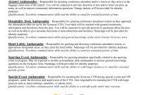Brand Ambassador Job Description For Resume How To Leave  Grad Kaštela with Brand Ambassador Agreement Template