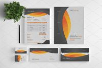 Branding Stationery Set A Collection Of Brandingidentity Templates intended for Business Card Letterhead Envelope Template