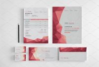 Branding Stationery Set A Collection Of Brandingidentity Templates with regard to Business Card Letterhead Envelope Template
