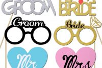 Bridal Shower Decorations Amazon Photo Booth Props Printable Custom regarding Bridal Shower Banner Template