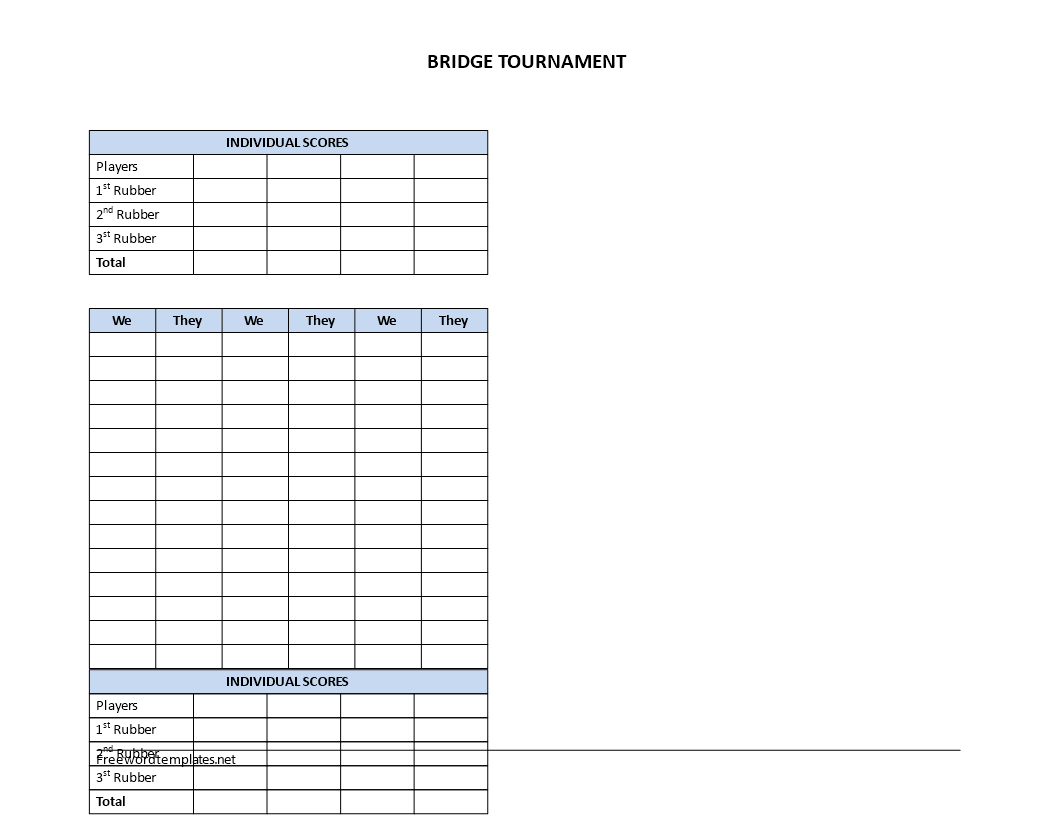Bridge Score Sheets Template What I Wish Everyone Knew  Grad Kaštela Throughout Bridge Score Card Template