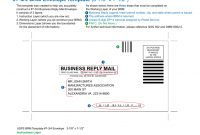 "Brm Envelope Template "" X regarding Business Reply Mail Template"