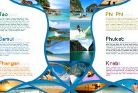Brochure Design Chennai  Brochure Design Chennai  Travel Brochure within Island Brochure Template