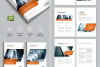 Brochure Template For Indesign  A And Letter  Amann  Brochure regarding Product Brochure Template Free