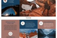 Brochure Templates And Design Tips To Inform Your Audience And inside Travel Guide Brochure Template
