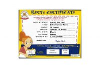 Build A Bear Birth Certificate  Katieroseintimates in Build A Bear Birth Certificate Template