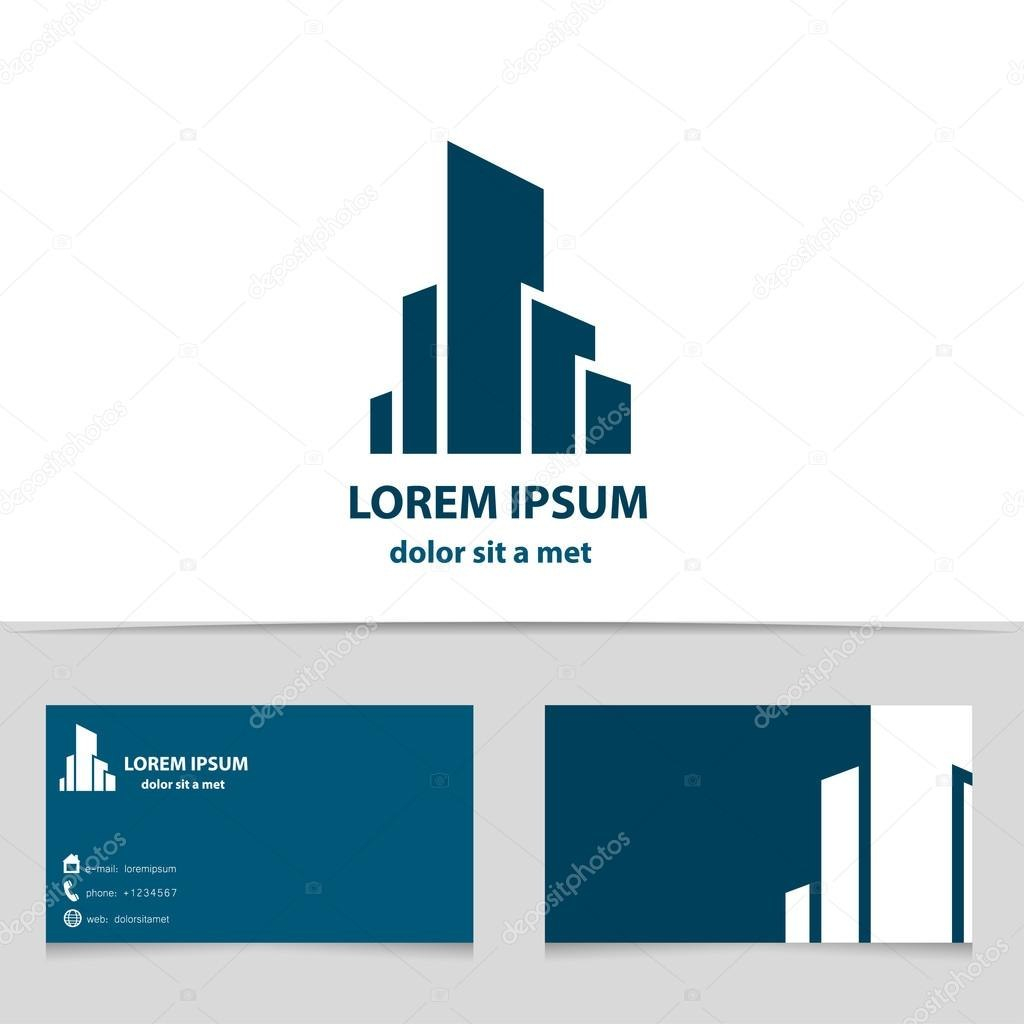 Building Construction Logo Design For Your Company Creative With Regard To Construction Business Card Templates Download Free