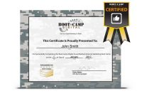 Bunch Ideas For Boot Camp Certificate Template Of Job Summary With Boot Camp Certificate Template