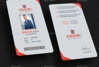 Business Card Template Ai New Modern Id Card Apaq Potanist within Id Card Template Ai
