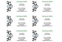 Business Card Template Microsoft Word Ideas Sensational within Business Cards Templates Microsoft Word