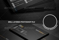 Business Card Templates  Designs From Graphicriver in Business Card Maker Template