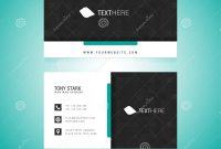 Business Card Vector Template Stock Vector  Illustration Of Adobe in Adobe Illustrator Card Template
