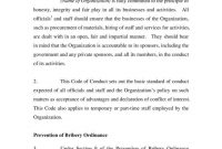 Business Code Of Ethics Policy Templates  Free  Premium Templates inside Business Ethics Policy Template
