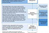 Business Continuity Management  Australian National Audit Office inside Business Continuity Management Policy Template
