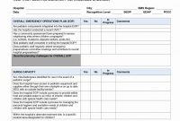 Business Continuity Plan Checklist Pdf Sample Review  Meetpaulryan throughout Business Continuity Checklist Template