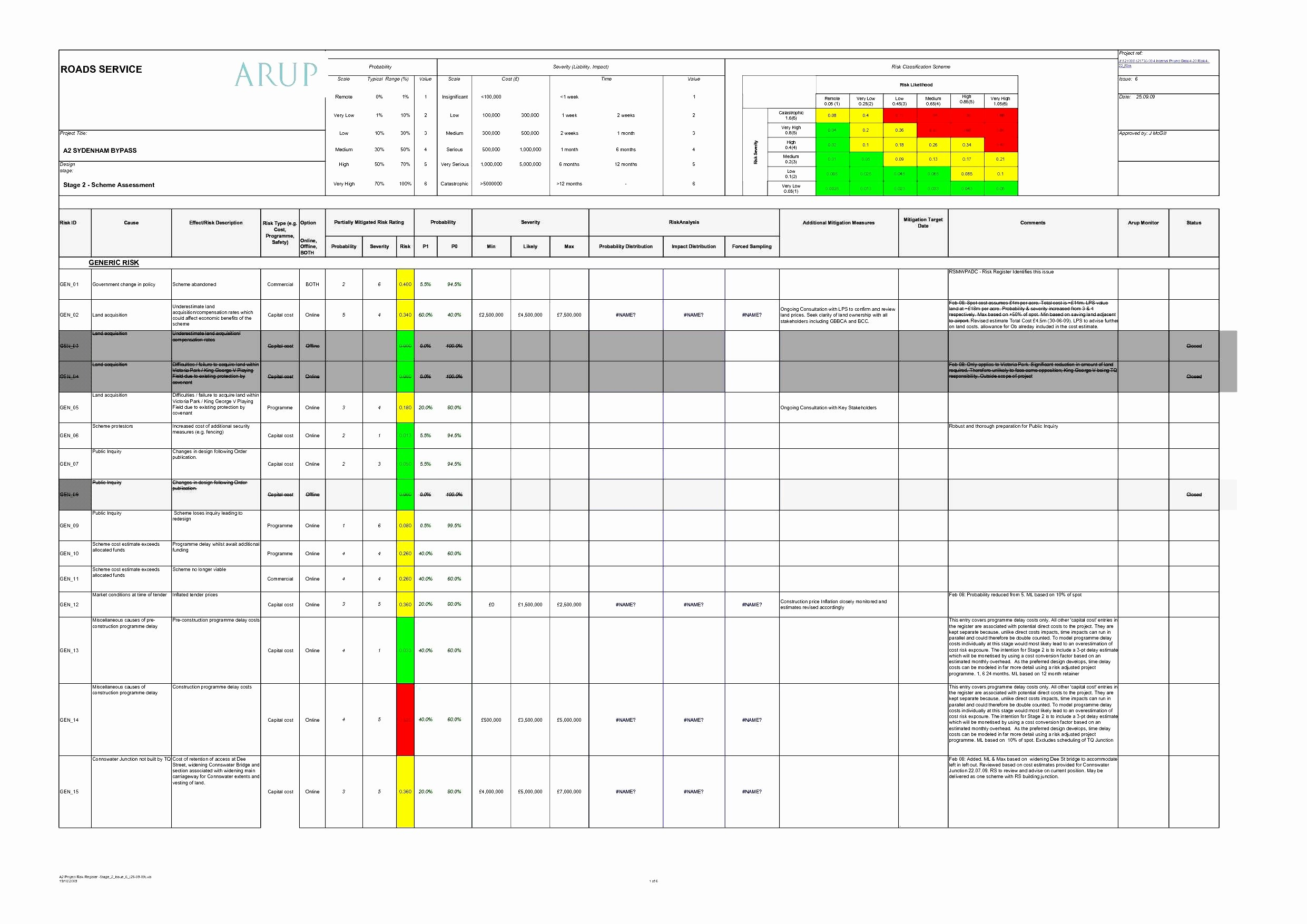 Business Continuity Plan Risk Assessment Template Valid Example Pertaining To Business Continuity Plan Risk Assessment Template