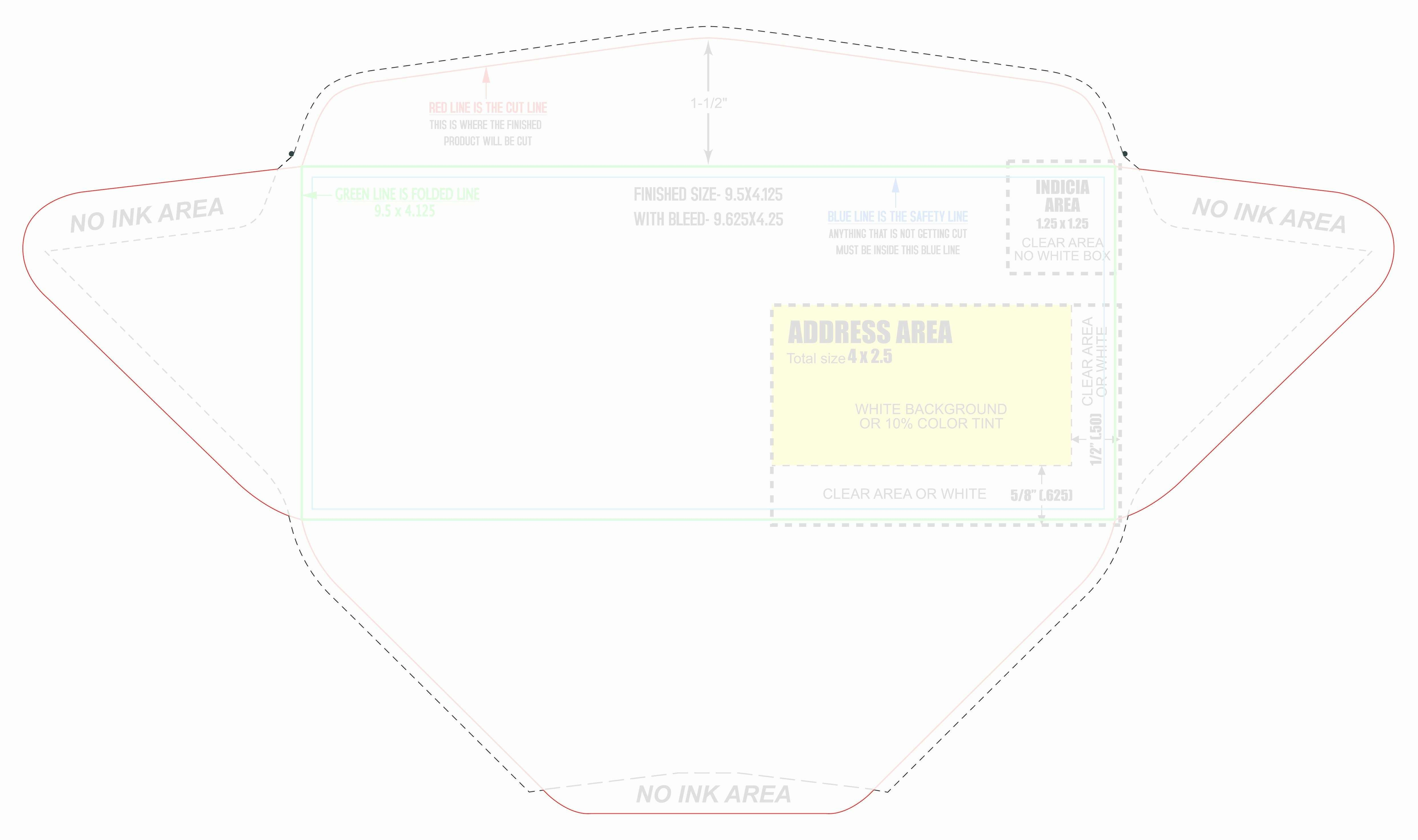 Business Envelope Template Illustrator  Caquetapositivo Inside Business Envelope Template Illustrator