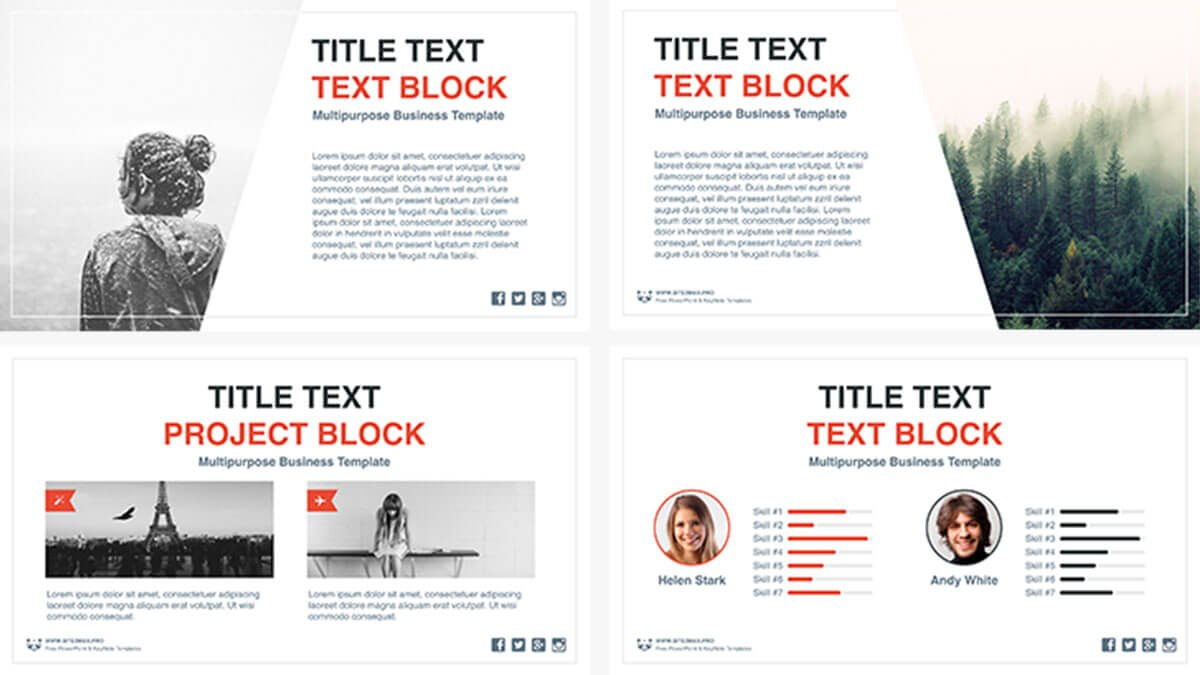 Business Idea Free Powerpoint Template  Presentations On Powerpointify For Business Idea Presentation Template