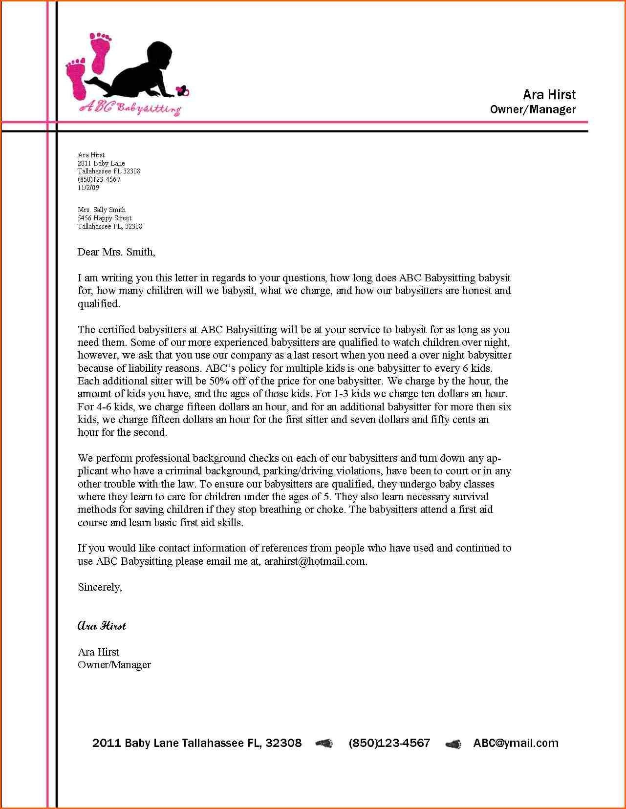 Business Letter Format Letterhead Example Alberta Education Links Pertaining To Business Headed Letter Template