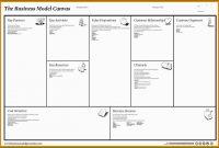 Business Model Canvas Vorlage Word Beste Business Model Canvas with Osterwalder Business Model Template