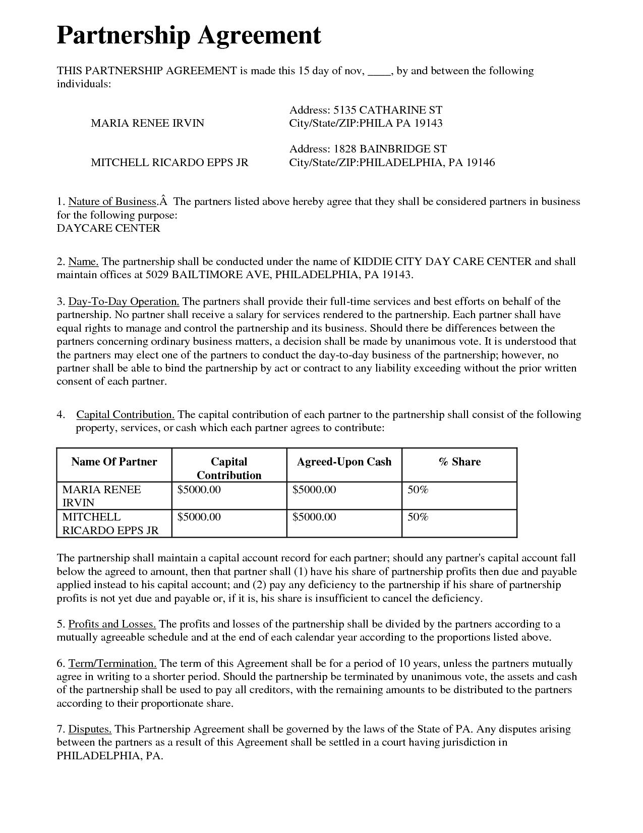 Business Partnership Contracts  – Elsik Blue Cetane Regarding Contract For Business Partnership Template