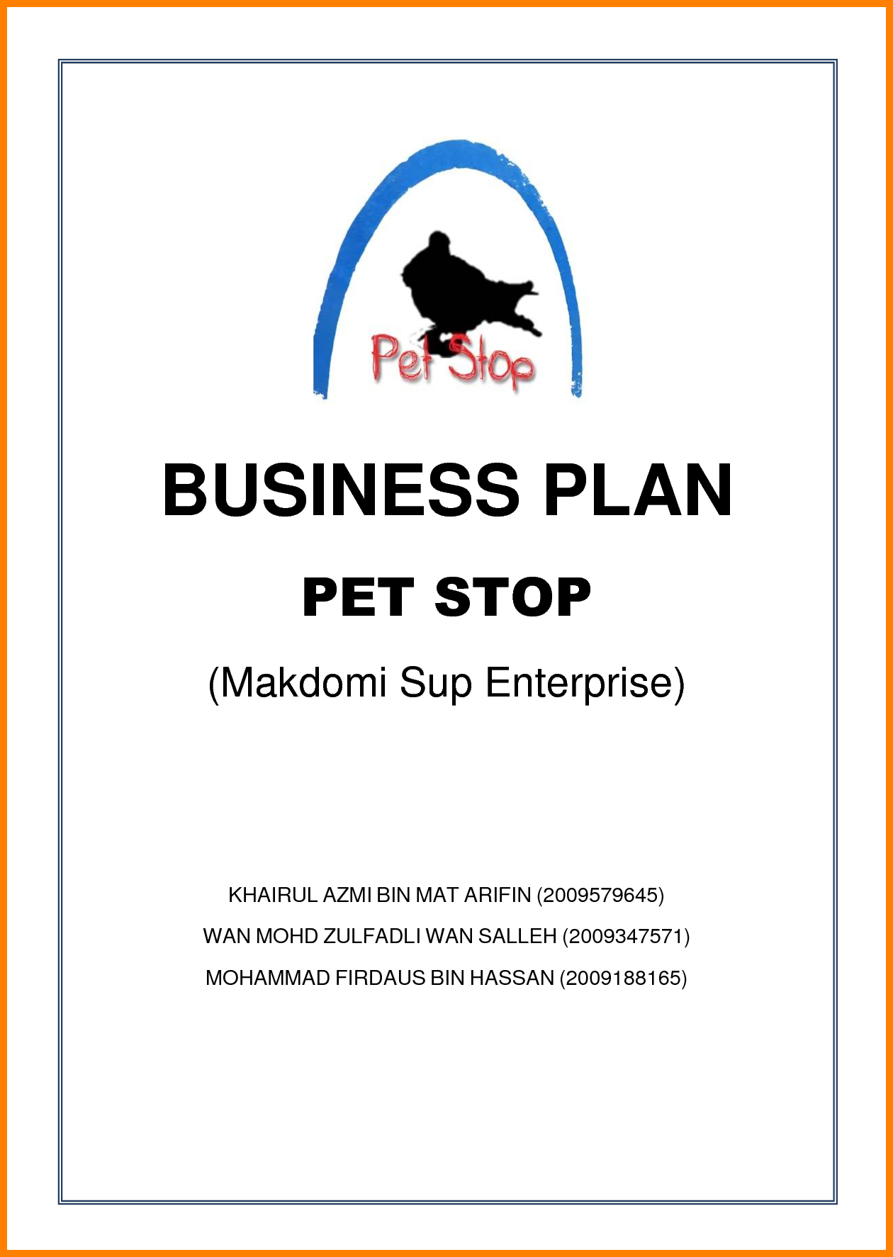 Business Plan For Pages Template Unusual Cover Page Doc Apa With Regard To Business Plan Title Page Template