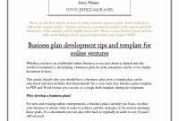 Business Plan Template Pdf Templates Ecommerce Inspirational regarding Ecommerce Website Business Plan Template