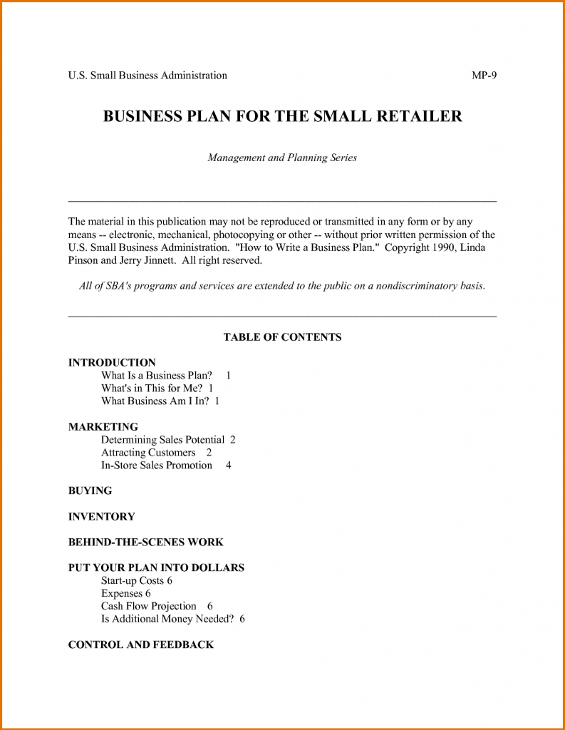 Business Plan Template Sba Awesome Templates Word Doc Pdf With Sba Business Plan Template Pdf
